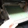 カローラランクス整備記録 2年放置したエアコンフィルターを交換