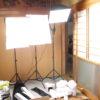 Andoer製ライトスタンド付きスタジオ照明のレビューと組立方法