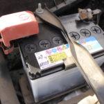 カローラランクス整備記録 オートウェーブでバッテリー交換