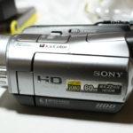 SONY HDR-SR7のHDDの在り処と分解