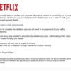 詐欺・迷惑メール 【NETFLIX】Your Netflix Membership is on hold [#46537]